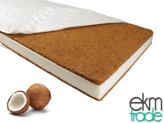 babybettmatratze kokos schaum 60 x 120 cm ekmtrade. Black Bedroom Furniture Sets. Home Design Ideas