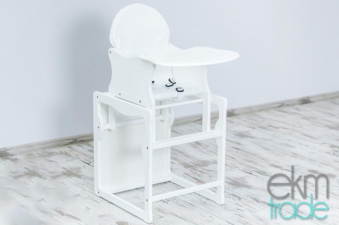 kinderhochstuhl 2in1 baby stuhl tisch holz ekmtrade. Black Bedroom Furniture Sets. Home Design Ideas