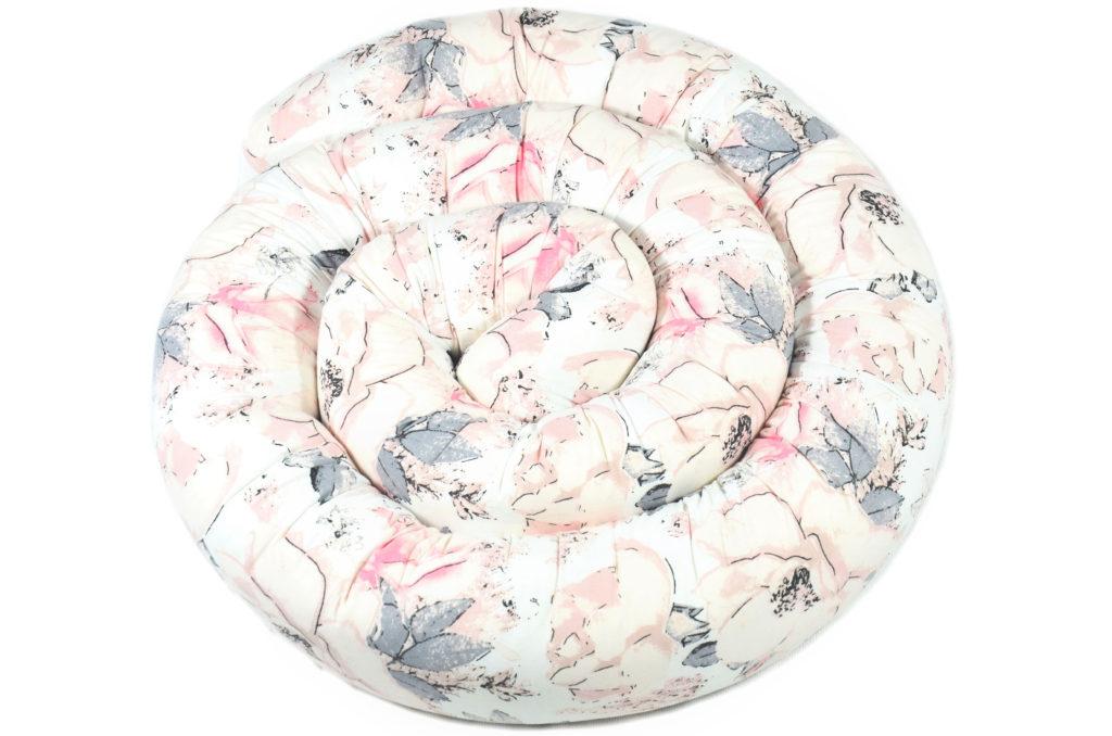 300cm Bettschlange Bettumrandung Nestchen Schlange Handmade 100% Baumwolle ÖKO-TEX W33