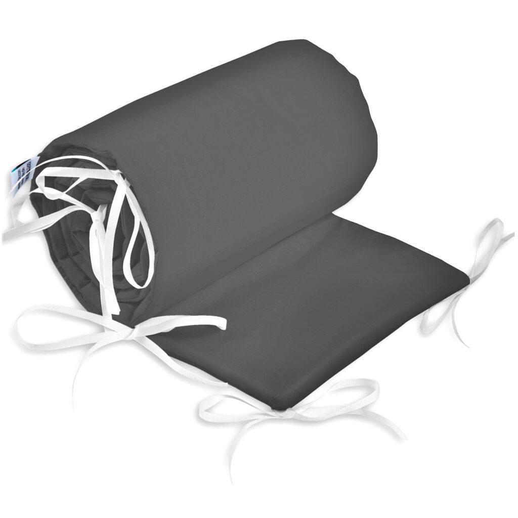 Bettumrandung Kopfschutz Nestchen für Babybett Handmade 100% Baumwolle 180cm – W30