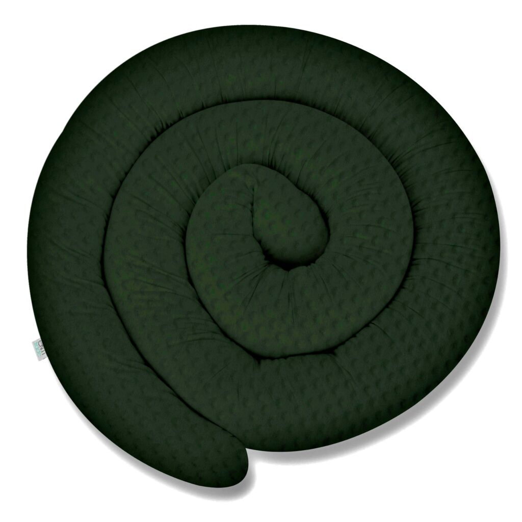 155cm Bettschlange Bettumrandung Nestchen Schlange Handmade 100% MINKY W95